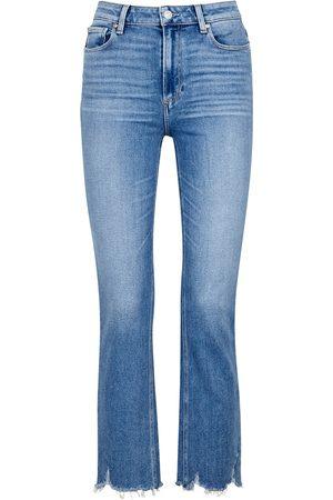 Paige Cindy light slim-leg jeans
