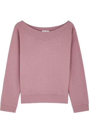 Ninety Percent Rose cotton sweatshirt