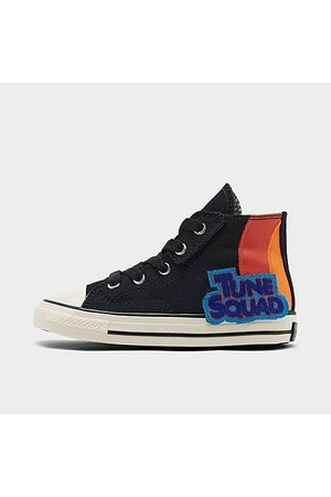 Converse Kids' Toddler X Space Jam Chuck Taylor All Star 70 High Top Casual Shoes in / Size 2.0 Canvas/Satin