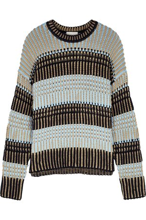 3.1 Phillip Lim Striped stretch-knit jumper