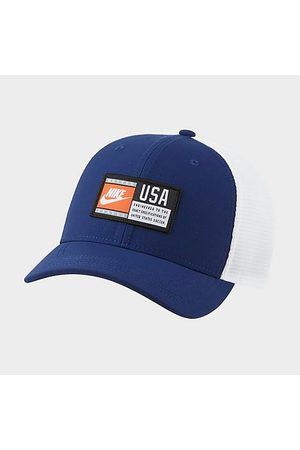 Nike Hats - USA Classic99 Trucker Hat in /Navy 100% Polyester