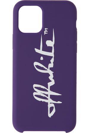 Off-White Purple Logo iPhone 11 Pro Case
