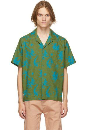 Carne Bollente Men Short sleeves - Green 'The Sighing Game' Short Sleeve Shirt