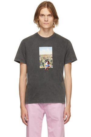Carne Bollente Men T-shirts - Black Organic Cotton Boldfinger T-Shirt