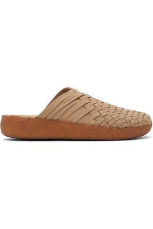 Malibu Sandals Men Sandals - Beige Vegan Suede Colony Sandals