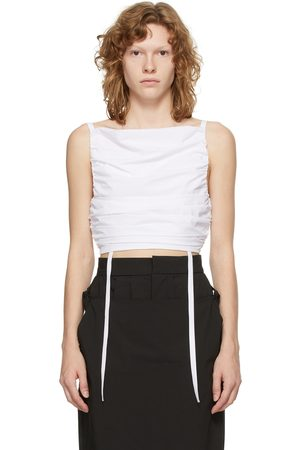 Markoo Cropped Self-Tie Camisole