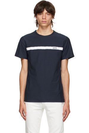 A.P.C. Navy Yukata T-Shirt