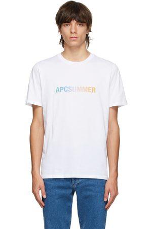A.P.C. White & Multicolor Viktor T-Shirt