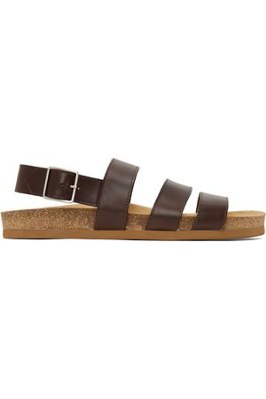 A.P.C. Men Sandals - Brown Raphael Sandals
