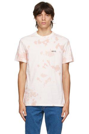 A.P.C. Pink Tie-Dye Ali T-Shirt