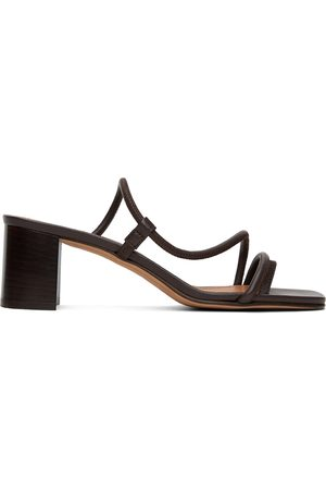 Emme Parsons Women Heeled Sandals - Brown Brera Heeled Sandals