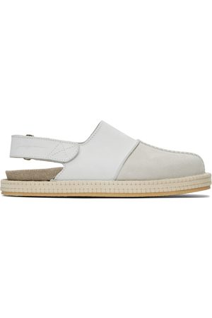 Jacquemus Men Loafers - Off-White 'Les Mules Blé' Loafers