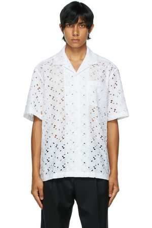 CMMN SWDN Ture Broderie Anglaise Short Sleeve Shirt