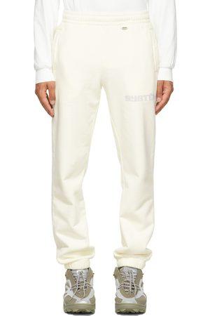 032c Men Sweats - Off-White Glow-In-The-Dark 'Système de la Mode' Lounge Pants