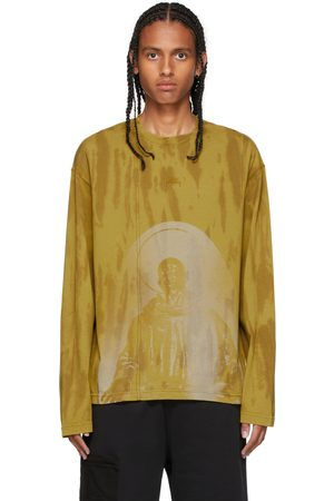 A-COLD-WALL* Yellow Erosion Long Sleeve T-Shirt