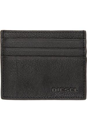 Diesel Black Johnas II Card Holder
