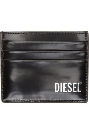 Diesel Black Patent Johnas II Card Holder