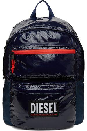 Diesel Navy Rodyo Pat Backpack