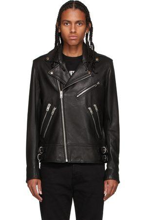 Diesel Black Leather L-Garrett Jacket