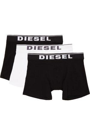 Diesel Three-Pack Black & White UMBX-SEBASTIANTHREEP Boxers