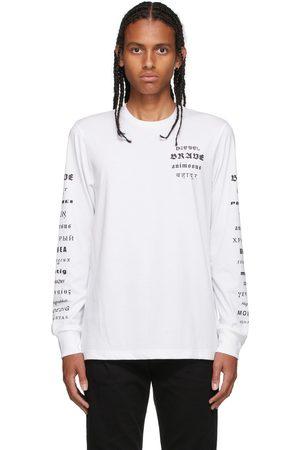 Diesel White B50 Long-Sleeve T-Shirt