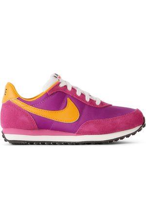 Nike Sneakers - Kids Purple & Orange Waffle Trainer 2SP Sneakers