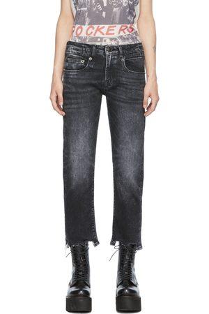 R13 Men Straight - Black Straight-Leg Boy Jeans