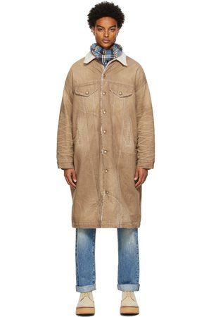 R13 Tan Lyle Trucker Coat
