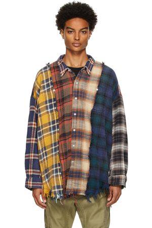 R13 Men Casual - Multicolor Plaid Shirt