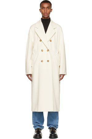Max Mara Men Coats - White Madame Icon Coat
