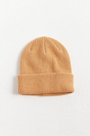 Urban Outfitters Men Beanies - UO Waffle Knit Beanie