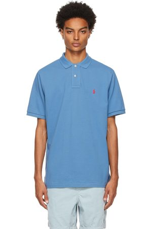Polo Ralph Lauren Blue Classic Fit 'The Iconic' Polo