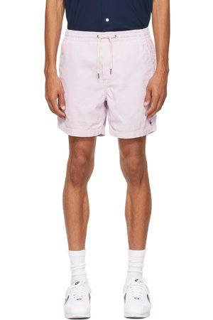 Polo Ralph Lauren Men Shorts - Purple Corduroy 6 Inch Prepster Shorts
