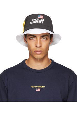 Polo Ralph Lauren Black & White 'Polo Sport' Bucket Hat
