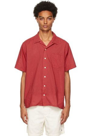 Polo Ralph Lauren Men Short sleeves - Red Classic Fit Camp Short Sleeve Shirt