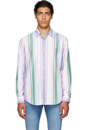 Polo Ralph Lauren White Striped Oxford Shirt