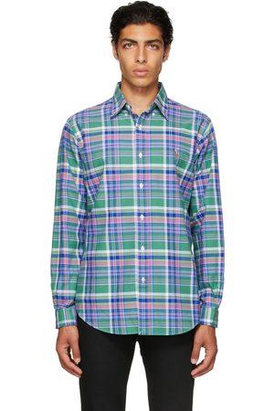 Polo Ralph Lauren Green Plaid Oxford Shirt