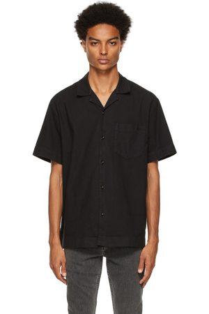 A.P.C. Black Edd Short Sleeve Shirt