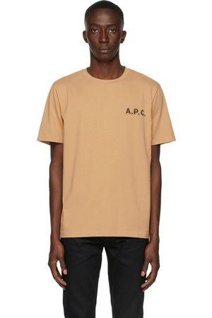 A.P.C. Beige Daniel T-Shirt