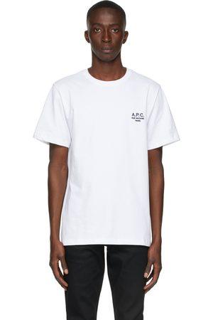A.P.C. White Raymond T-Shirt