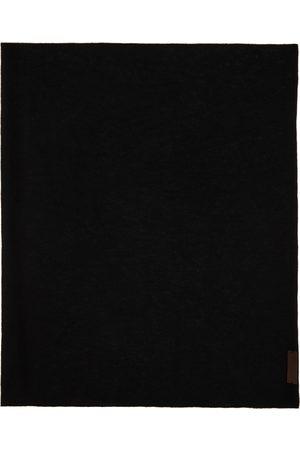 Ermenegildo Zegna Men Scarves - Black Cashmere EZ Scarf