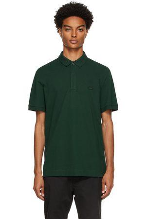 Lacoste Men Polo Shirts - Green Paris Polo