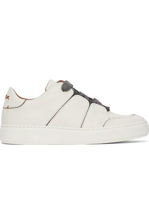 Ermenegildo Zegna Men Sneakers - Off-White Tiziano Sneakers