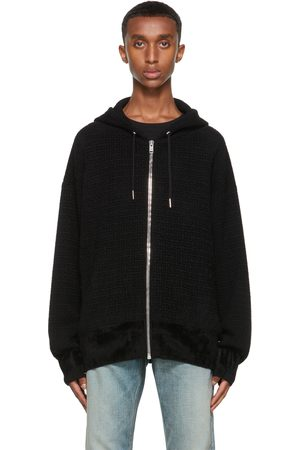 Givenchy Black Knit 4G Hoodie