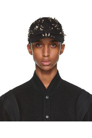 Givenchy Black Canvas Stud Cap