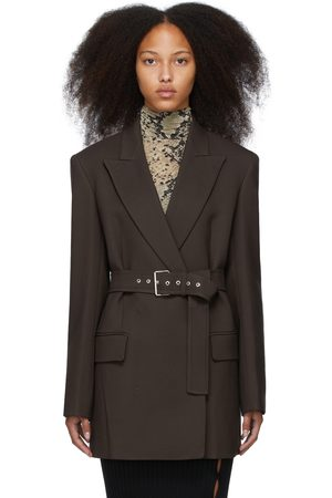 Sportmax Brown Caronte Blazer Dress
