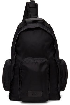 JUUN.J Black Sling Backpack