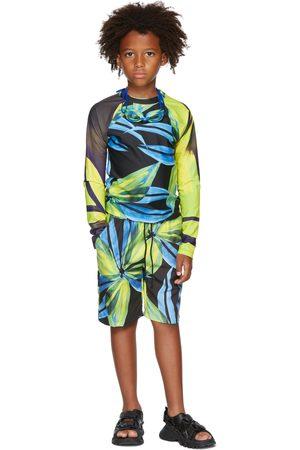 Louisa Ballou Long sleeves - SSENSE Exclusive Kids Multicolor Contrast Sleeve Top