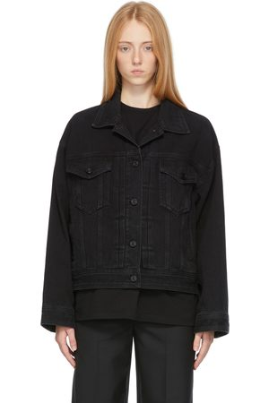 JUUN.J Women Denim Jackets - Denim Trucker Jacket