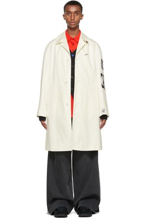 Raf Simons Off-White Fred Perry Edition Patch Coat